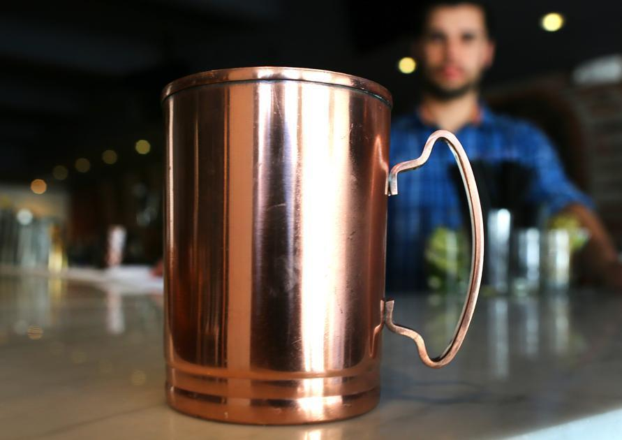 At Ward 8, a drink called the Moscow Mule is served in a copper mug that gets stolen quite a bit.